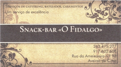 Snack Bar O Fidalgo